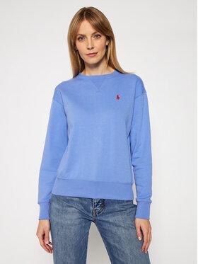 Polo Ralph Lauren Polo Ralph Lauren Bluză Lsl 211780304010 Albastru Regular Fit