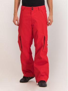 DC DC Snowboardové kalhoty EDYTP03047 Červená Regular Fit
