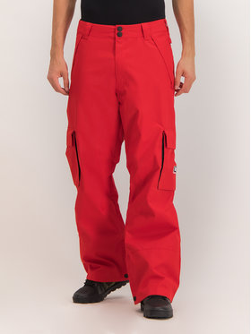 DC Snowboardové nohavice EDYTP03047 Červená Regular Fit