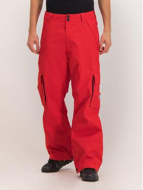 DC DC Spodnie snowboardowe EDYTP03047 Czerwony Regular Fit