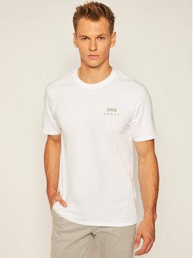 Edwin Edwin T-Shirt Logo Chest I026690 TH16J94 0267 Bílá Regular Fit