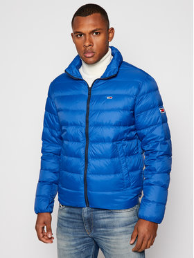 Tommy Jeans Tommy Jeans Vatovaná bunda Tjm Packable Light Down DM0DM08678 Modrá Regular Fit