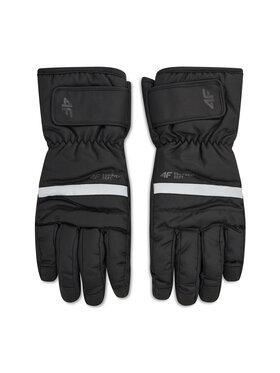 4F 4F Lyžařské rukavice H4Z20-REM003 Černá