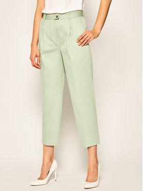Tommy Hilfiger Tommy Hilfiger Текстилни панталони WW0WW27278 Зелен Regular Fit