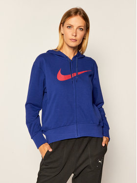 Nike Nike Суитшърт Dri-Fit Get Fi CQ9303 Виолетов Loose Fit