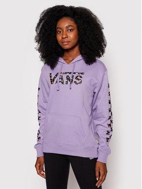 Vans Vans Sweatshirt Wyld Tangle II Ho VN0A5JGU Violet Regular Fit