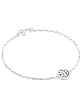 Tory Burch Tory Burch Armband Miller Pave Chain Bracelet Tory 80997 Silberfarben