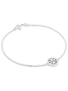 Tory Burch Tory Burch Náramek Miller Pave Chain Bracelet Tory 80997 Stříbrná