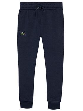 Lacoste Lacoste Spodnie dresowe XJ9476 Granatowy Regular Fit