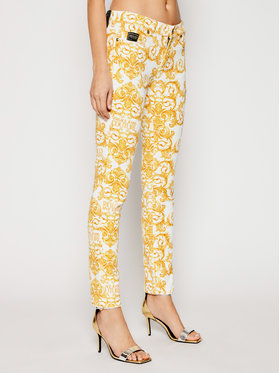 Versace Jeans Couture Versace Jeans Couture Blugi A1HWA0K0 Galben Skinny Fit