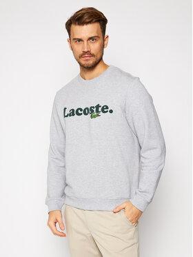 Lacoste Lacoste Džemperis SH2173 Pilka Classic Fit