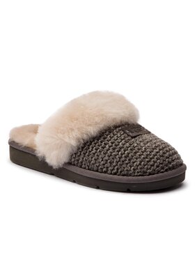 Ugg Ugg Pantofole W Cozy Knit Slipper 1095116 Grigio