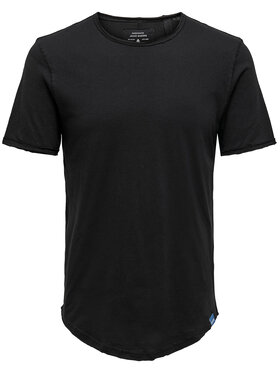 Only & Sons ONLY & SONS Tricou Benne 22019061 Negru Regular Fit