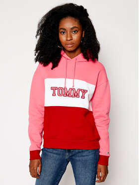 Tommy Jeans Tommy Jeans Sweatshirt Colorblock DW0DW09141 Bunt Regular Fit
