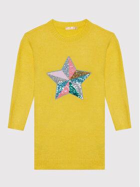 Billieblush Billieblush Ежедневна рокля U12675 Жълт Regular Fit