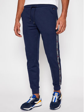 Tommy Hilfiger Tommy Hilfiger Pantalon jogging Trucker UM0UM00706 Bleu marine Regular Fit