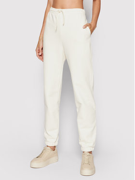 Samsøe Samsøe Samsøe Samsøe Pantaloni trening Undyed W F21200142 Bej Relaxed Fit
