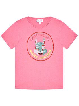 Little Marc Jacobs Little Marc Jacobs T-Shirt W15541 S Rosa Regular Fit