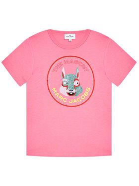 Little Marc Jacobs Little Marc Jacobs T-shirt W15541 S Rose Regular Fit