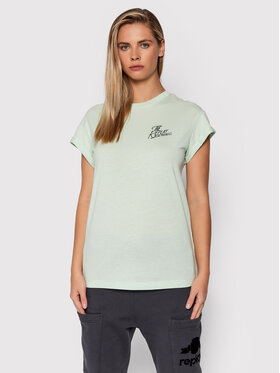 Replay Replay Tricou W3328C.000.23120P Verde Relaxed Fit
