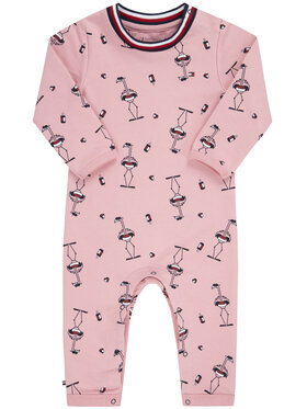 TOMMY HILFIGER TOMMY HILFIGER Smėlinukai Baby Printed Coverall KN0KN01093 Regular Fit