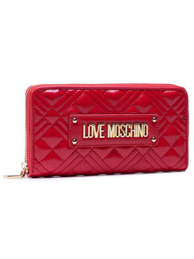 LOVE MOSCHINO LOVE MOSCHINO Голям дамски портфейл JC5600PP1BLA0500 Червен