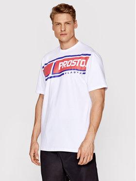 PROSTO. PROSTO. T-Shirt KLASYK Hama 1092 Biały Regular Fit