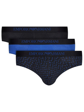 Emporio Armani Underwear Emporio Armani Underwear Komplet 3 par slipów 111624 0A722 91620 Czarny