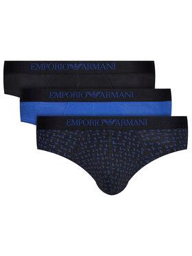 Emporio Armani Underwear Emporio Armani Underwear Súprava 3 párov slipov 111624 0A722 91620 Čierna