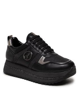 Patrizia Pepe Patrizia Pepe Sneakersy Ppj635 Čierna