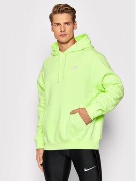 Nike Nike Bluza Sportswear Club BV2654 Zielony Standard Fit