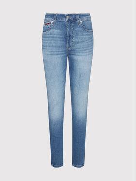 Tommy Jeans Tommy Jeans Jeansy Simon DM0DM10827 Niebieski Skinny Fit