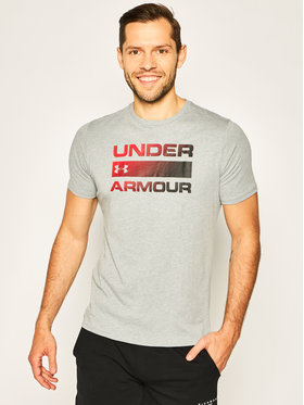 Under Armour Under Armour Тишърт Team Issue Wordmark 1329582 Сив Regular Fit