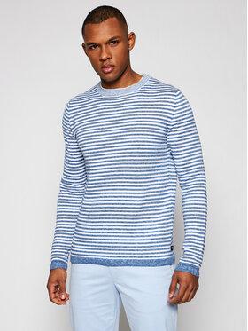 Trussardi Trussardi Sweter 52M00483 Niebieski Regular Fit
