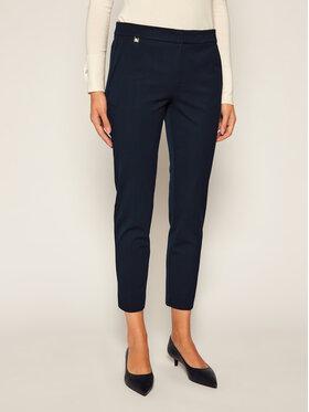 Lauren Ralph Lauren Lauren Ralph Lauren Medžiaginės kelnės 200747991004 Tamsiai mėlyna Slim Fit