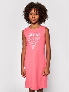 Guess Guess Hétköznapi ruha J92K57 K82F0 Rózsaszín Regular Fit