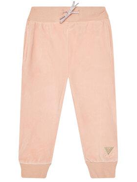 Guess Guess Teplákové kalhoty K0BQ04 KA2X0 Oranžová Regular Fit