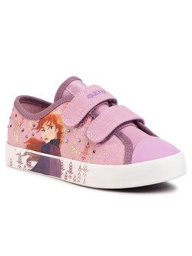 Geox Geox Sneakers aus Stoff J Ciak G,H J0204H 00010 C8005 S Rosa