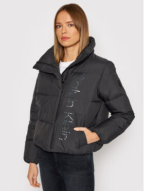 Calvin Klein Calvin Klein Kurtka puchowa Womenswear K20K203141 Czarny Regular Fit