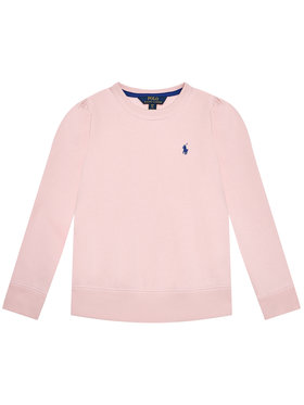Polo Ralph Lauren Polo Ralph Lauren Bluză Ls Cn Fleece 313837765007 Roz Regular Fit