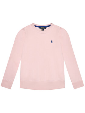 Polo Ralph Lauren Polo Ralph Lauren Mikina Ls Cn Fleece 313837765007 Růžová Regular Fit