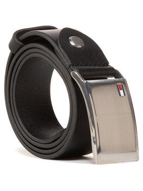 TOMMY HILFIGER TOMMY HILFIGER Мъжки колан Th Plaque Belt 3.5 Adj AM0AM01995 Черен