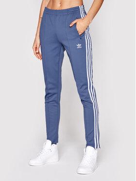 adidas adidas Pantaloni da tuta Primeblue Sst Track GN2942 Blu Slim Fit