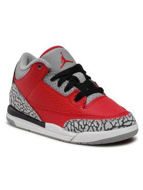 Nike Nike Scarpe Jordan 3 Retro SE (PS) CQ0487 600 Rosso