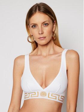 Versace Versace Biustonosz braletka Donna AUD01047 Biały