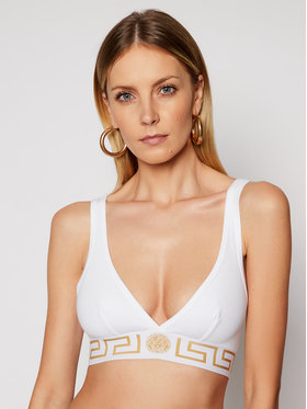 Versace Versace Бралетка Donna AUD01047 Бял