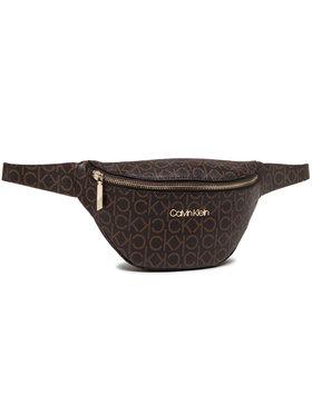 Calvin Klein Calvin Klein Marsupio Waistbag Monogram K60K608139 Marrone
