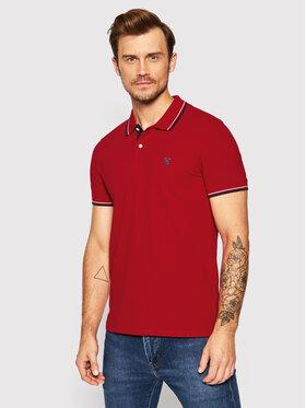 Selected Homme Selected Homme Тениска с яка и копчета New Season 16062542 Червен Regular Fit