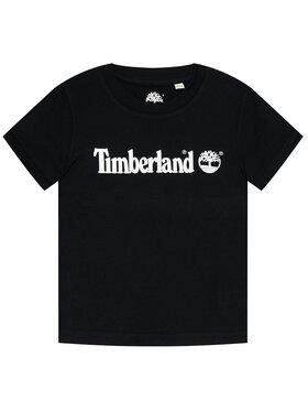 Timberland Timberland Тишърт T25S28 S Черен Regular Fit