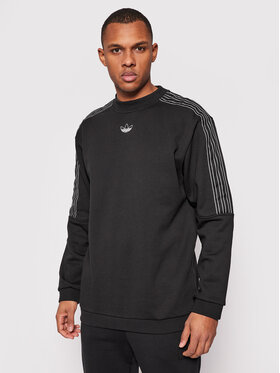 adidas adidas Bluză Sprt Outline 3-Stripes GN2442 Negru Regular Fit